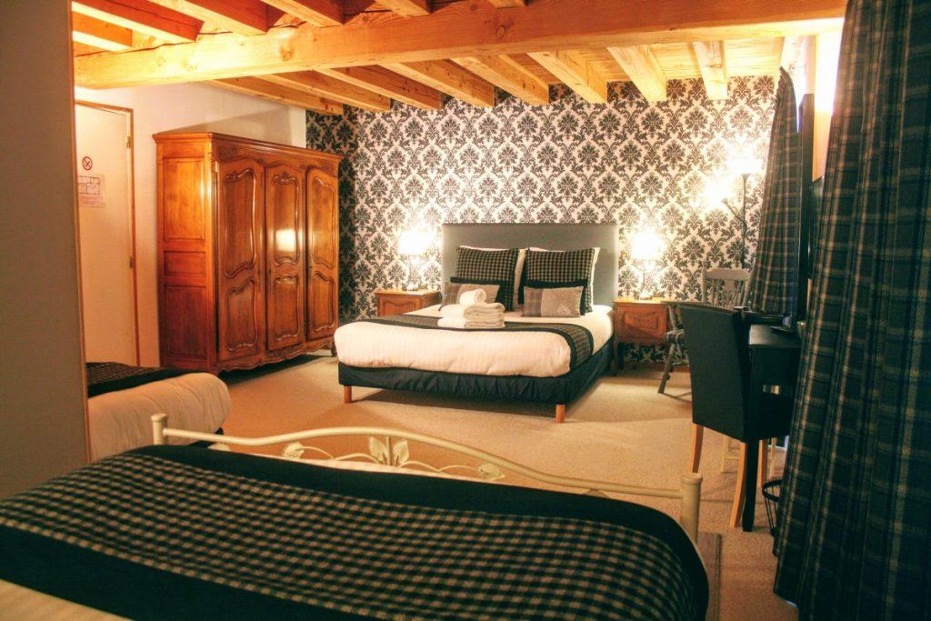 Chambre Familiale Chabanettes Hotel et Spa Auvergne Puy de Dôme