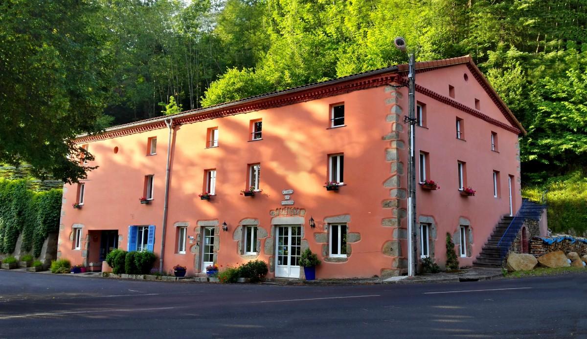 Chabanettes Hotel & Spa Puy-de-Dôme Livradois Forez AuvergneFacade