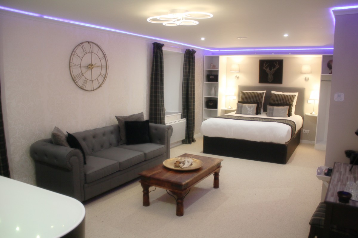 Hotel Chabanettes Chambre Luxe avec Spa Balneo Privatif en Auvergne & Puy-de-Dôme. Weekend Détente